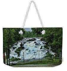 Lots Of Rain Weekender Tote Bag