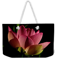 Weekender Tote Bag featuring the photograph Lotus Flower 2 by Buddy Scott