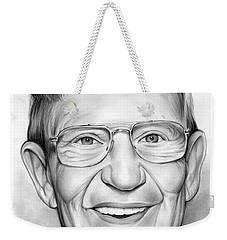 Lou Holtz Weekender Tote Bag by Greg Joens
