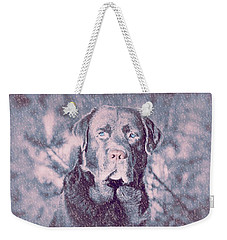 Weekender Tote Bag featuring the photograph Love Of Dogs by Allen Beilschmidt