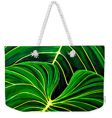 Lovely Greens Weekender Tote Bag