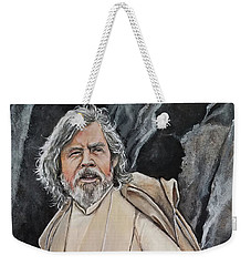 Luke Skywalker Weekender Tote Bag by Tom Carlton
