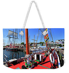 Lunenburg, Nova Scotia Weekender Tote Bag