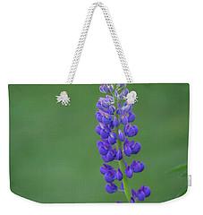 Graceful Lupine Weekender Tote Bag