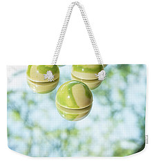 Macha Tea Chocolate Weekender Tote Bag