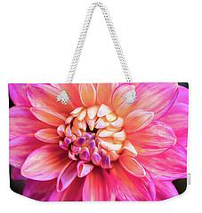 Magenta Dahlia Weekender Tote Bag