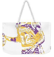 Magic Johnson Los Angeles Lakers Pixel Art 5 Weekender Tote Bag