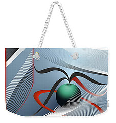 Magnetic Fields Weekender Tote Bag by Leo Symon