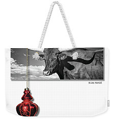 Weekender Tote Bag featuring the photograph Majesty In Simplicity by Lou Novick