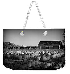 Make Way For Pumpkins Weekender Tote Bag by Barbara Bardzik