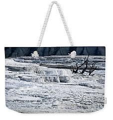 Mammoth Terraces Weekender Tote Bag