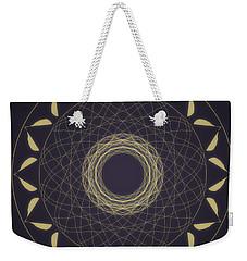Mandala 1 Weekender Tote Bag