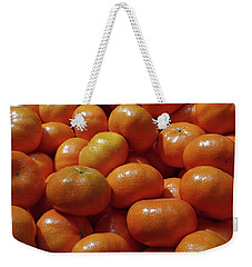 Mandarin Oranges Weekender Tote Bag by David Pantuso