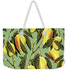 Mango Season Weekender Tote Bag by Uma Gokhale