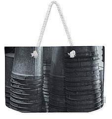 Maple Syrup Buckets Weekender Tote Bag by Tom Singleton