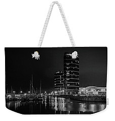 Weekender Tote Bag featuring the photograph Marina by Ryan Photography