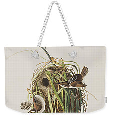 Marsh Wren  Weekender Tote Bag by John James Audubon