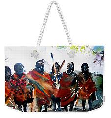 Masaai Boys Weekender Tote Bag