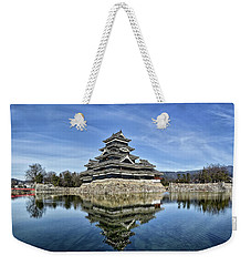 Matsumoto Castle Panorama Weekender Tote Bag