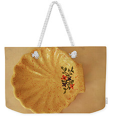 Medium Shell Plate Weekender Tote Bag