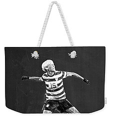 Megan Rapinoe Weekender Tote Bag by Semih Yurdabak
