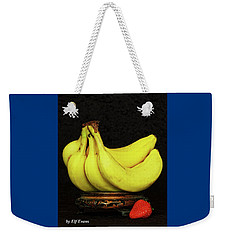 Weekender Tote Bag featuring the photograph Mellow Yellows And Red by Elf Evans