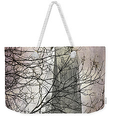 Weekender Tote Bag featuring the photograph Memorial by Judy Wolinsky