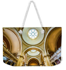 Weekender Tote Bag featuring the photograph Metropolitan Museum Of New York by Marvin Spates