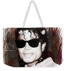 Michael Jackson Weekender Tote Bag