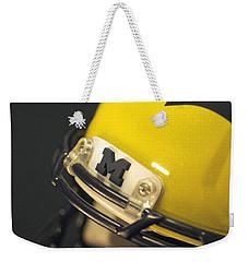 Michigan M Weekender Tote Bag