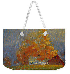 Middle Farm Foliage Weekender Tote Bag