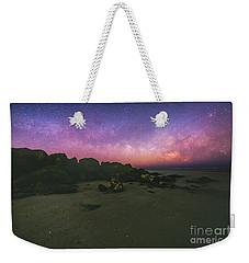 Milky Way Beach Weekender Tote Bag