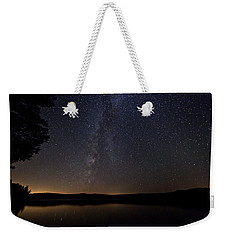 Milky Way Chocorua Lake Weekender Tote Bag
