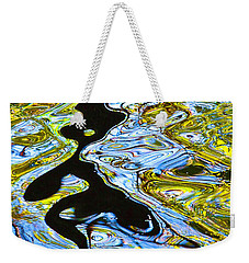 Mill Pond Reflection Weekender Tote Bag