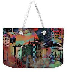 Minneapolis Collage Weekender Tote Bag