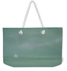 Misty Sail Weekender Tote Bag