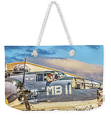 Marine Mitchell B-25 Pbj  Weekender Tote Bag
