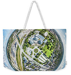 Weekender Tote Bag featuring the photograph Mitchell Park Domes by Randy Scherkenbach