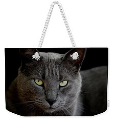 Weekender Tote Bag featuring the photograph Mittens by Mary-Lee Sanders