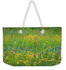 Mixed Wildflowers In Texas 538 Weekender Tote Bag