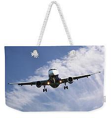 Monarch Airlines Airbus A320-214 Weekender Tote Bag