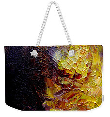 Weekender Tote Bag featuring the painting Monsoon by Fred Wilson