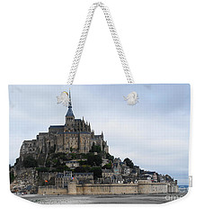 Mont St Michel Weekender Tote Bag by Therese Alcorn
