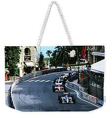 Monte Carlo Casino Corner Weekender Tote Bag
