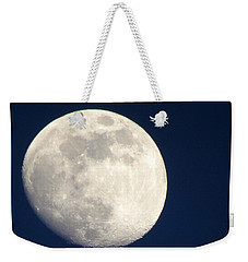 Moon In Blue Weekender Tote Bag