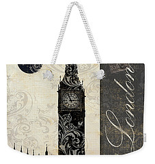 Moon Over London Weekender Tote Bag by Mindy Sommers