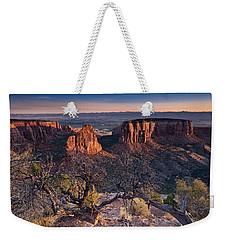 Morning At Colorado National Monument Weekender Tote Bag