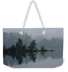 Morning Fog Over Cranberry Lake Weekender Tote Bag
