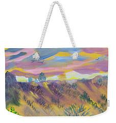 Morning Glory Weekender Tote Bag by Meryl Goudey
