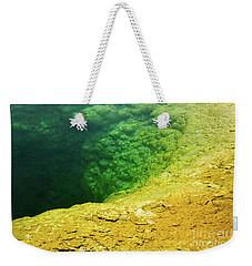 Morning Glory Pool Weekender Tote Bag